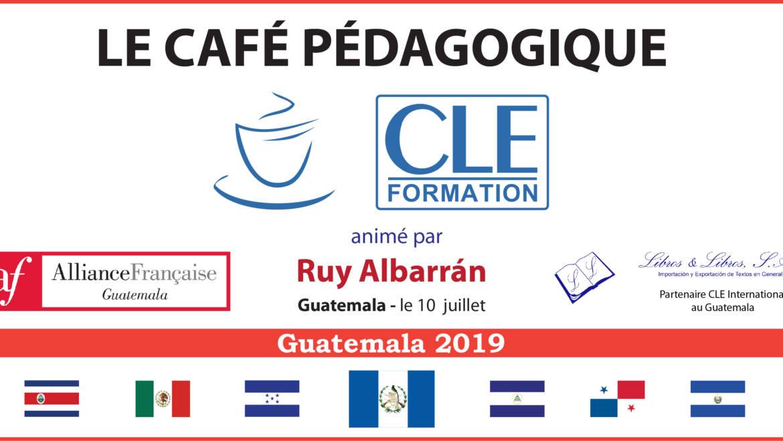 Café Pédagogique CLE Formation 2019 – Guatemala, Gte.